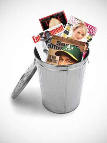 Time Inc. News Corp. Trash Can - P 2013