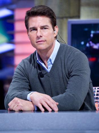 Tom Cruise Headshot - P 2013