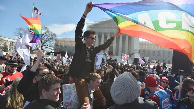 U.S. Supreme Court Building Same-Sex Marriage - H 2013
