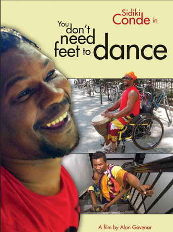 you dont need feet to dance.