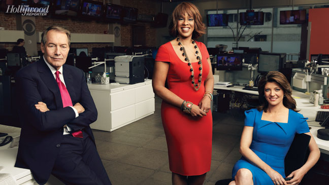 'CBS This Morning' Anchors: Charlie Rose, Gayle King and Norah O'Donnell
