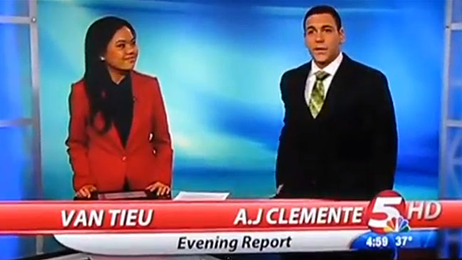 A.J. Clemente News Anchor - H 2013