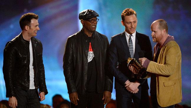MTV Movie Awards - 'The Avengers' Wins - H 2013