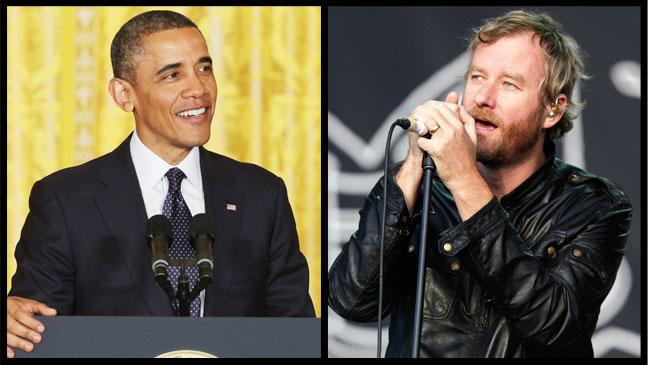 Barack Obama Matt Berninger Split - H 2013