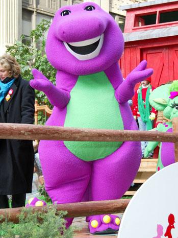 Barney Dinosaur - P 2013
