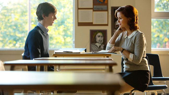 Bates Motel Episodic Freddie Highmore Teacher - H 2013