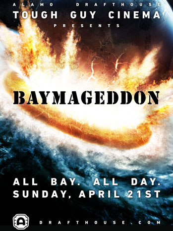 Baymageddon Poster Art - P 2013