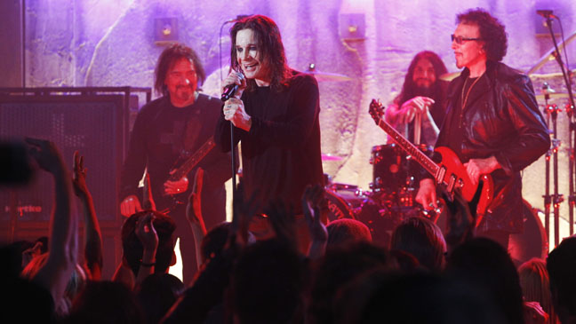 Black Sabbath Performing on CSI Episodic - H 2013