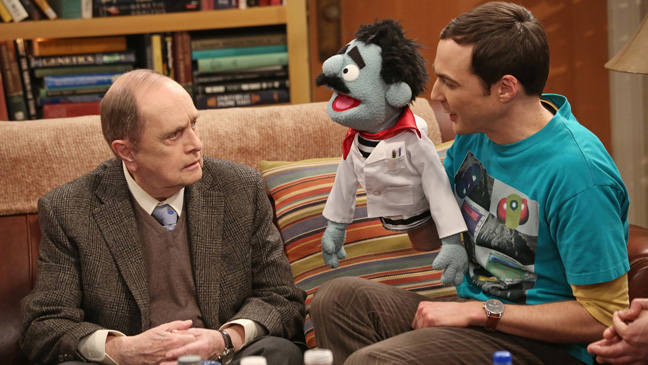 The Big Bang Theory Bob Newhart 1- H 2013