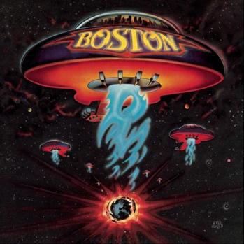 Boston album cover P