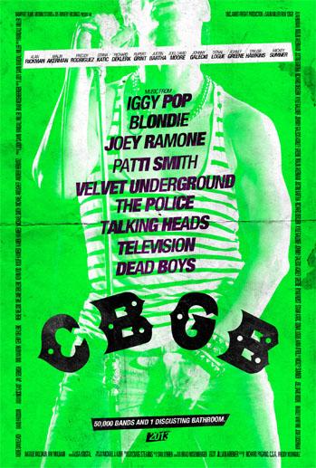 CBGB Poster Green - P 2013