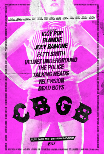 CBGB Poster Pink - P 2013