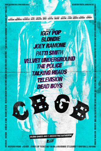 CBGB Poster Cyan - P 2013