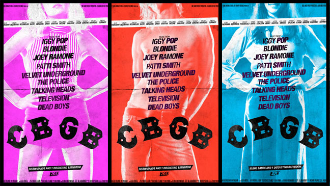 CBGB Horizontal Posters Main - H 2013