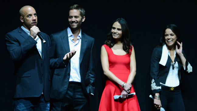 CinemaCon Fast and Furious Cast - H 2013