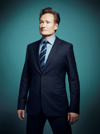 Conan O'Brien Key Art Portrait - P 2013