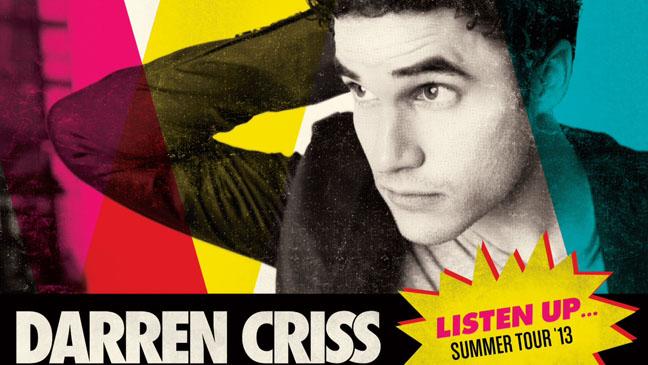 Darren Criss Listen Up Tour Photo - H 2013