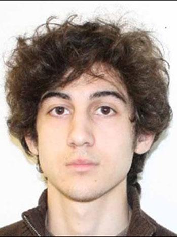 Dzhokhar Tsarnaev Mugshot - P 2013
