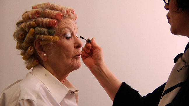 Elaine Stritch Makeup - H 2013