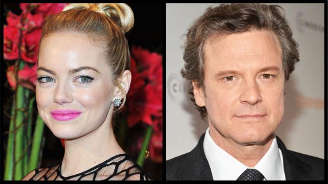 Emma Stone Colin Firth Split - H 2013