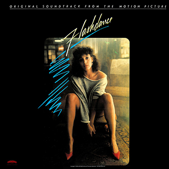 Flashdance soundtrack cover P