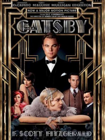 Great Gatsby Book Cover - P - 2013