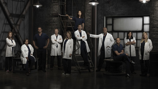Grey's Anatomy Cast Season 9 - H 2013