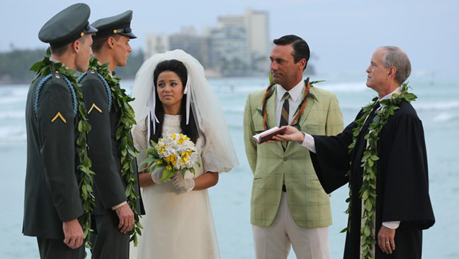 Hawaii Wedding Mad Men - H 2013