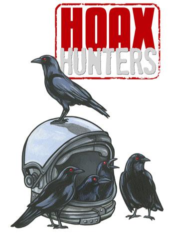 Hoax Hunters Art - P 2013