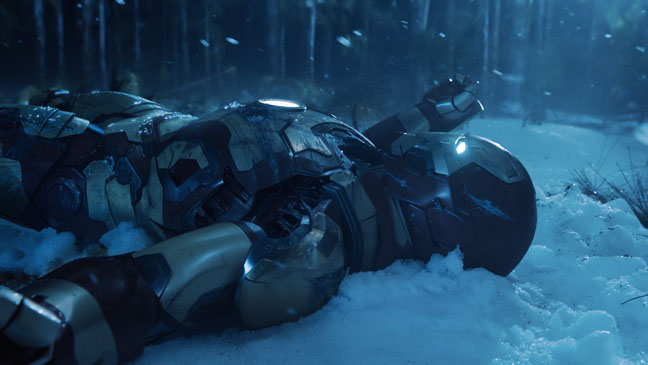 Iron Man 3 In the Snow - H 2013