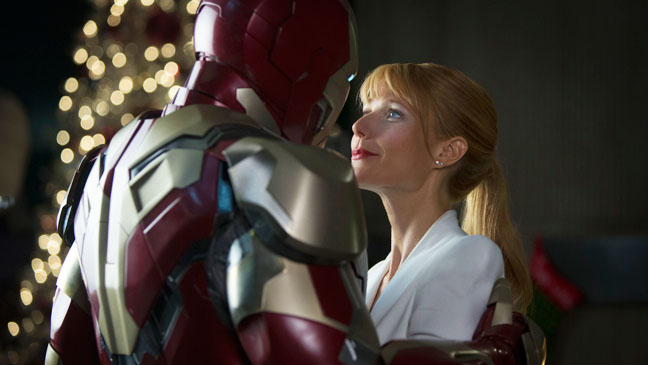 Iron Man 3 Downey Paltrow - H 2013