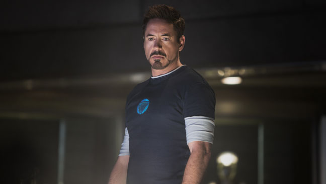Iron Man 3 Downey without Suit - H 2013