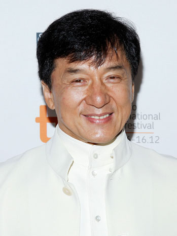 Jackie Chan TIFF arrivals - P 2013