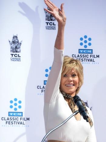 Jane Fonda Handprint Ceremony - P 2013