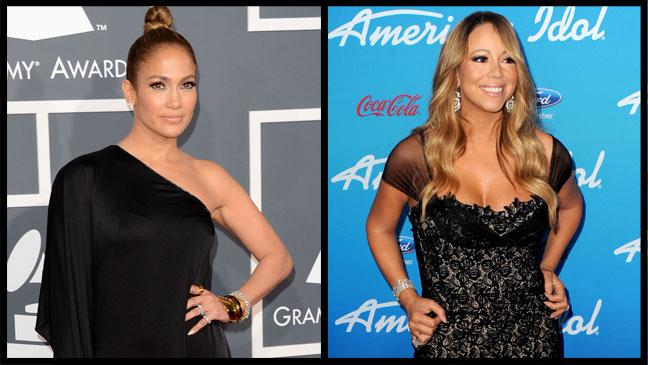 Jennifer Lopez Mariah Carey - H 2013