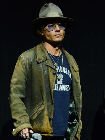 Johnny Depp Cinemacon - P 2013