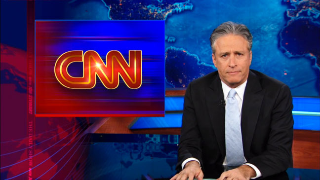 The Daily Show Jon Stewart CNN  - H 2012