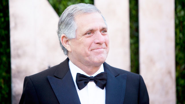 Les Moonves Vanity Fair Oscars After Party - H 2013