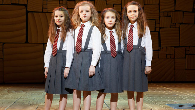 Matilda the Musical - Matilda Actresses - H 2013
