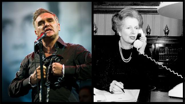 Morrissey Margaret Thatcher - H 2013