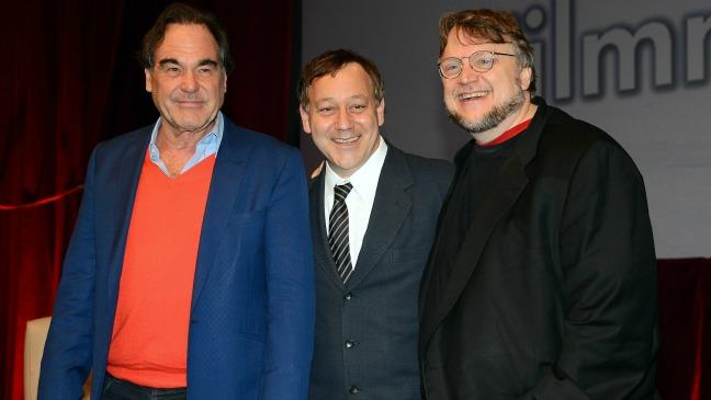 Oliver Stone, Sam Raimi and Guillermo del Toro