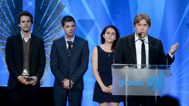 Perks of Being a Wallflower GLAAD Awards - H 2013