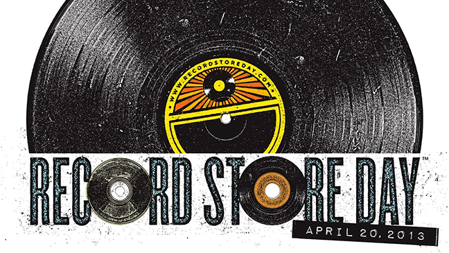 Record Store Day 2013 logo L