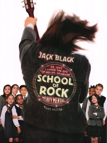 School of Rock movie poster P