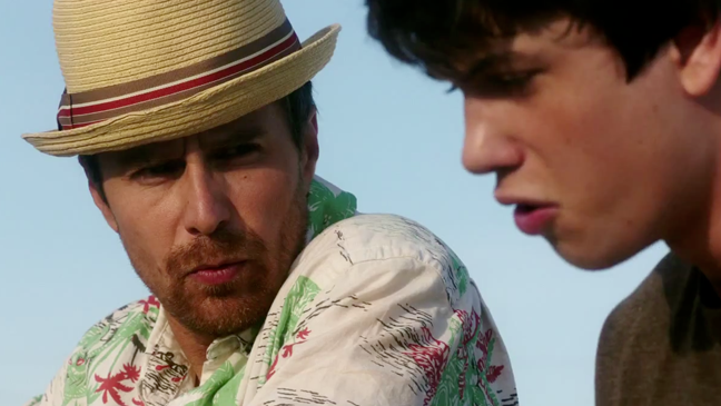 Sam Rockwell in The Way, Way Back - H 2013
