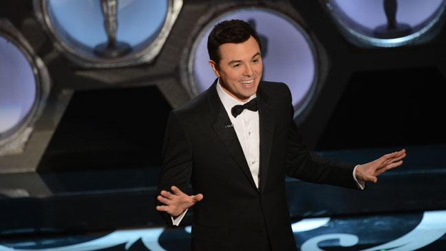 Seth MacFarlane Oscars Host - H 2013