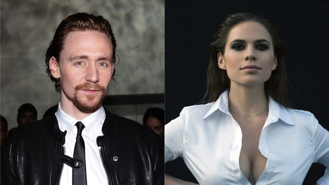 Tom Hiddleston Hayley Atwell? Split H