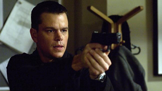 The Bourne Identity Still Damon - H 2013