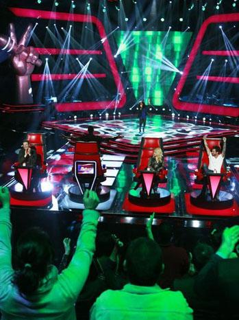The Voice 4/9 Jessica Childress Judges - P 2013