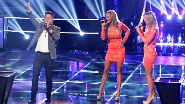 The Voice Battle Rounds Justin Rivers Morgan Twins - H 2013